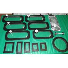 Vacuum Frame for leakage testing of butt joints - STANDARD